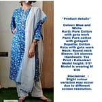 Omior Pure Cotton Block Printed Cotton...
