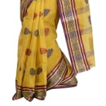 Omior Pure Cotton Tant Handloom Saree