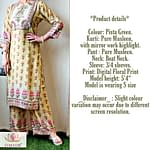 Omior Pure Musleen Latest Kurti Design
