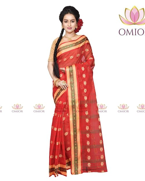 Omior Best Quality Tant Saree Below 600