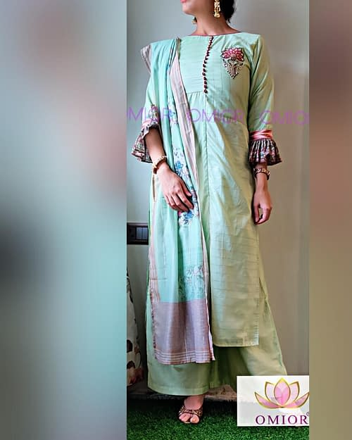 Omior Best Designer Kurti Set of 2020