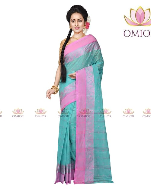 Omior Cotton Handloom Saree Designs