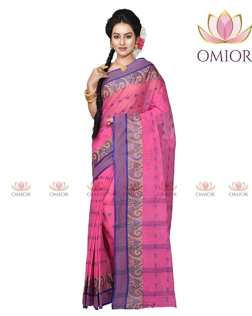 Omior Cotton National Saree Handloom...