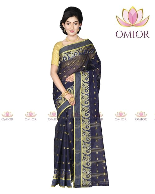 Omior Pure Cotton Tant Saree New Design