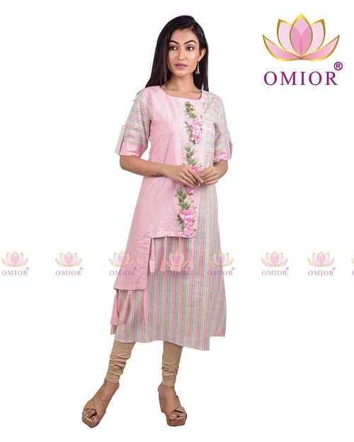 Omior Pure Cotton Kurti for Woman of...