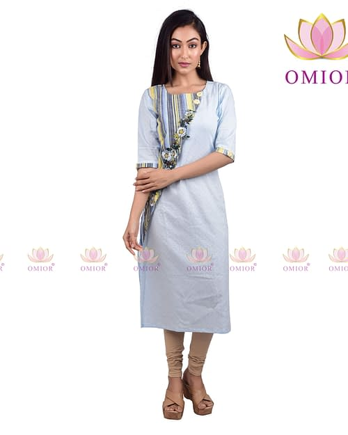 Omior Pure Cotton Kurti top Woman of...