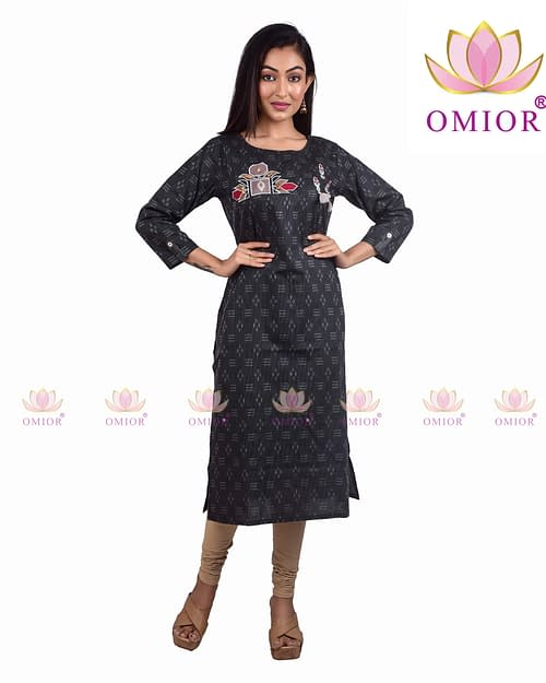 Omior Pure Cotton Kurti New Design