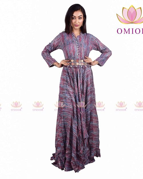 Pure Cotton Printed Gown Best-Selling...