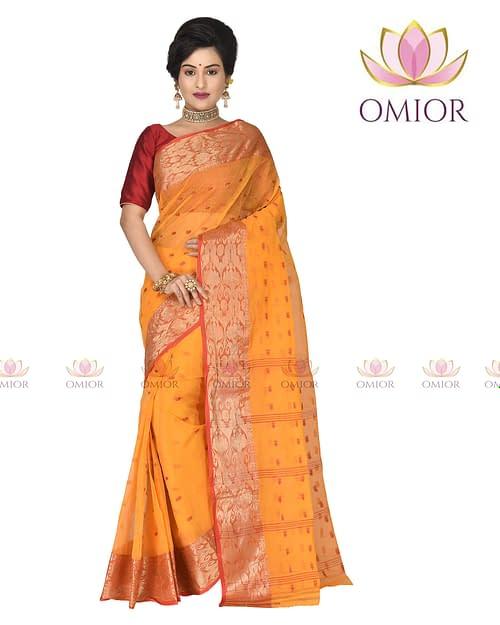 Superb Pure Cotton Tant Saree Online...