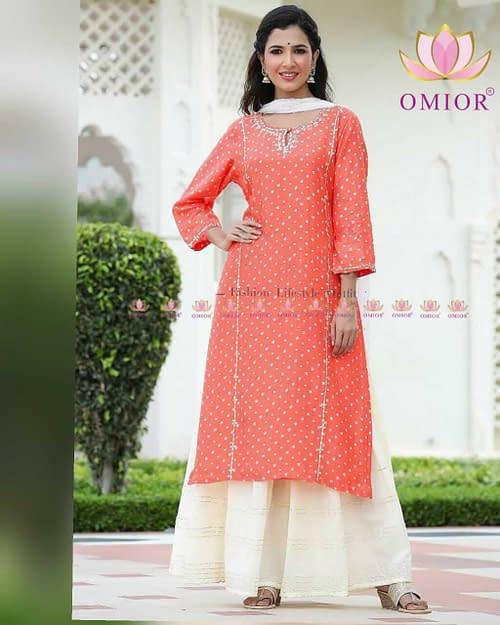 Superb Pure Musleen Gota patti Dress 2021